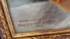 John Steuart Curry Hilda Nellis Seated Nude Woman - 564205