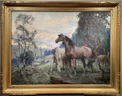 John Steuart Curry Horses - 2047234