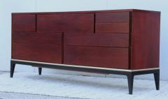John Stuart 1960s Modernist 9 Drawer Walnut Dresser By John Stuart - 1961487