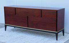 John Stuart 1960s Modernist 9 Drawer Walnut Dresser By John Stuart - 1961489