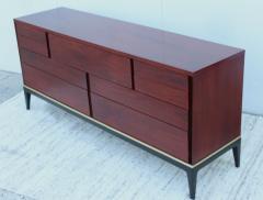 John Stuart 1960s Modernist 9 Drawer Walnut Dresser By John Stuart - 1961491