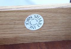 John Stuart 1960s Modernist 9 Drawer Walnut Dresser By John Stuart - 1961496