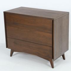 John Stuart Mid Century Modern Walnut Cabinet Dresser Designed by John Stuart - 2132304