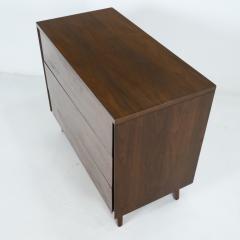 John Stuart Mid Century Modern Walnut Cabinet Dresser Designed by John Stuart - 2132307
