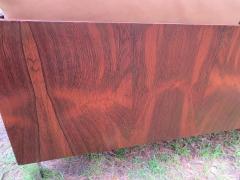 John Stuart Outrageous Milo Baughman Style Rosewood Chrome Case Sofa John Stuart - 1030935