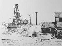 John T Fitzgerald The Vulture Mine - 1173691
