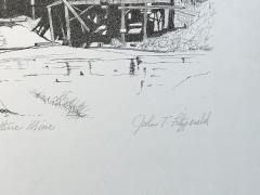John T Fitzgerald The Vulture Mine - 1173694