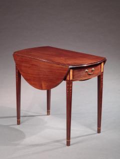 John Townsend Federal Inlaid Pembroke Table - 593863