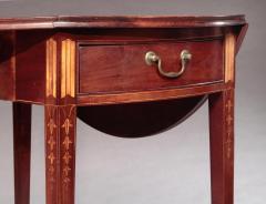 John Townsend Federal Inlaid Pembroke Table - 593864