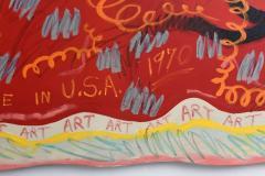 John Tweddle Important and Monumental Size American Acrylic on Canvas John Tweddle 1970 - 358391