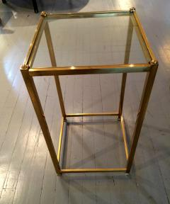 John Vesey A Brass Side Table by John Vesey - 109605