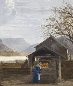John William Hill The Oven Ramapo Mountain  - 325266