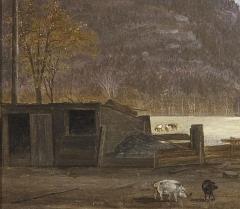 John William Hill The Oven Ramapo Mountain  - 325267