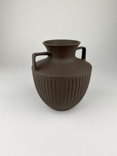Johnathan Clappison Hornsea Pottery Brown Bisque Urn - 1493849