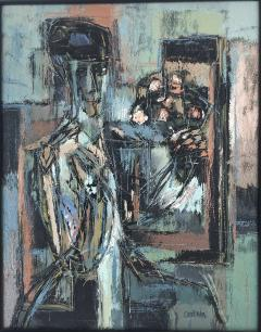 Jon Corka Cornin Pensive With Nosegay - 1207857