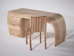 Jonathan Field Ash desk chair and printer unit - 1991051