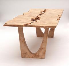 Jonathan Field Burr Maple table - 1990997