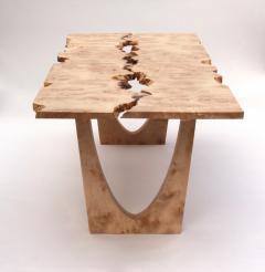 Jonathan Field Burr Maple table - 1990998