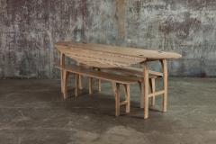 Jonathan Field Ebony Grained Ash Dining Benches - 1991087