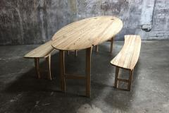 Jonathan Field Ebony Grained Ash Dining Benches - 1991091