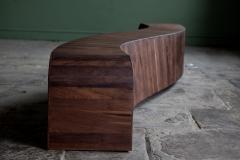 Jonathan Field Gallery Bench in American Black Walnut - 1991079