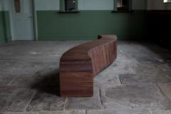Jonathan Field Gallery Bench in American Black Walnut - 1991086