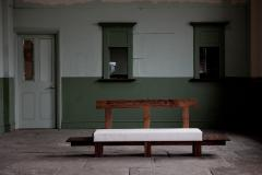 Jonathan Field Low Bench of Solid English and American Walnut - 1991058