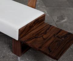 Jonathan Field Low Bench of Solid English and American Walnut - 1991064