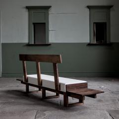 Jonathan Field Low Bench of Solid English and American Walnut - 1991066