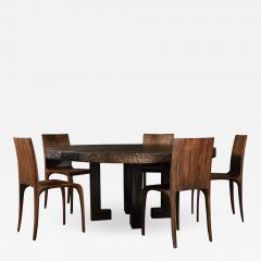 Jonathan Field Round Table in English Walnut - 1982144