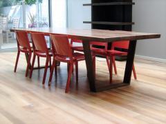 Jonathan Field Table in solid American black walnut - 1991037