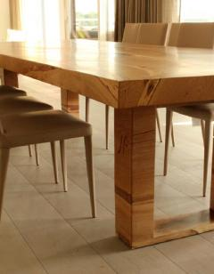 Jonathan Field Table in solid salvaged English oak for C J - 1991003