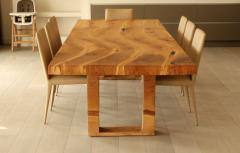 Jonathan Field Table in solid salvaged English oak for C J - 1991004
