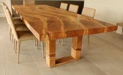 Jonathan Field Table in solid salvaged English oak for C J - 1991007
