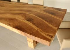 Jonathan Field Table in solid salvaged English oak for C J - 1991022