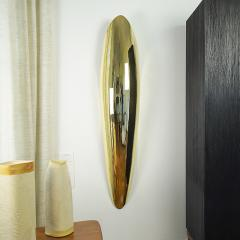 Jonathan Souli FANG Lighting wall sculpture in hammered brass - 2051266