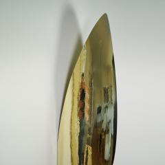 Jonathan Souli FANG Lighting wall sculpture in hammered brass - 2051268