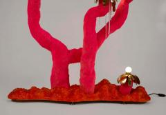 Jonathan Trayte Jonathan Trayte Floor Lamp Pink Hot Solar Buzzer Number 1 Custom Contemporary - 1601527