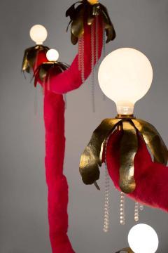 Jonathan Trayte Jonathan Trayte Floor Lamp Pink Hot Solar Buzzer Number 1 Custom Contemporary - 1601529