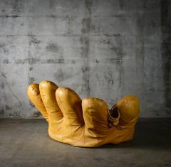 Jonathan de Pas De Pas DUrbino and Lomazzi Joe Baseball Glove Chair - 185597