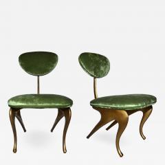 Jordan Mozer Rare incredible pair of armchairs designed by Jordan Mozer - 732056