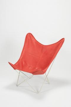 Jorge Ferrari Hardoy Butterfly Chair Ferrari Hardoy Leather Cotton - 1782786