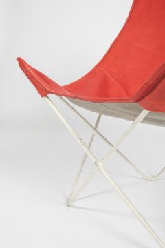 Jorge Ferrari Hardoy Butterfly Chair Ferrari Hardoy Leather Cotton - 1782833