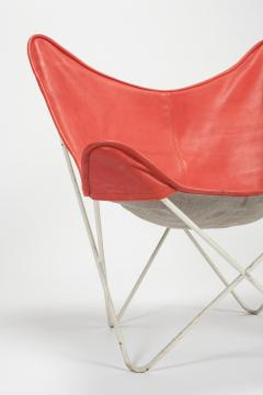 Jorge Ferrari Hardoy Butterfly Chair Ferrari Hardoy Leather Cotton - 1782847