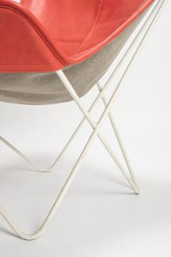 Jorge Ferrari Hardoy Butterfly Chair Ferrari Hardoy Leather Cotton - 1782856