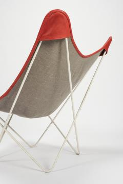 Jorge Ferrari Hardoy Butterfly Chair Ferrari Hardoy Leather Cotton - 1782874