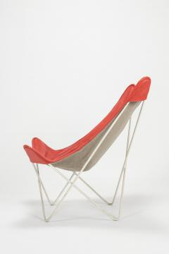 Jorge Ferrari Hardoy Butterfly Chair Ferrari Hardoy Leather Cotton - 1782878