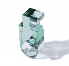 Jorge Y zpik RING GLASS 1 sculptural jewelry - 919497