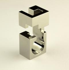 Jorge Y zpik RING STEEL 1 sculptural jewelry - 918641