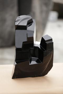 Jorge Y zpik Untitled sculpture Obsidian I - 1147191